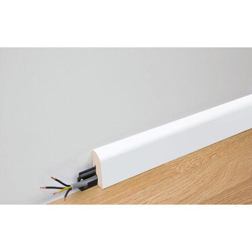Meister Plint 2 PK wit glanzend o.a. voor Lindura houten vloer