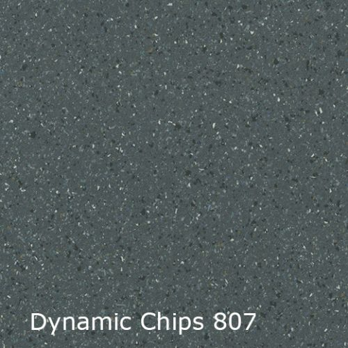Interfloor vinyl Dynamic Chips kleur 807