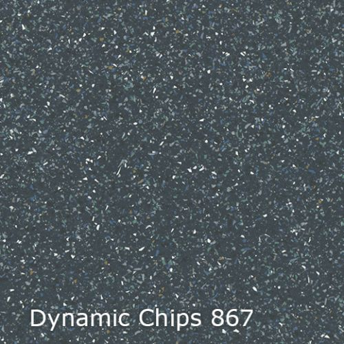 Interfloor vinyl Dynamic Chips kleur 867