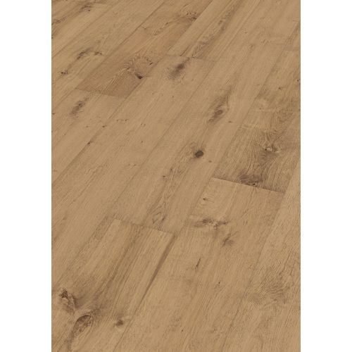 MEISTER Lindura houten vloeren HD 400 | 320 mm Eik 8414 rustiek koffie crème