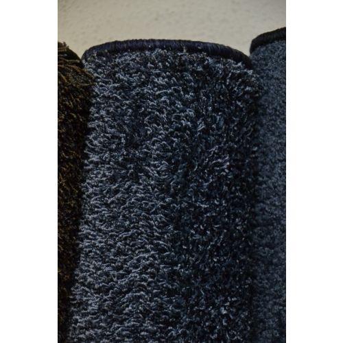 Karpet hoogpolig type Bonaparte Chinchilla - blauw gemêleerd (34.)