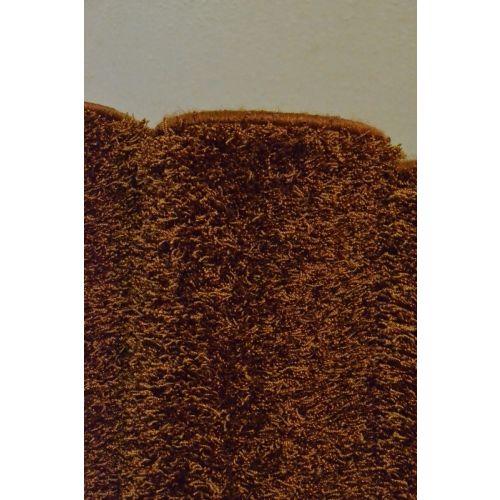 Karpet hoogpolig type Bonaparte Chinchilla - roest bruin (5.)