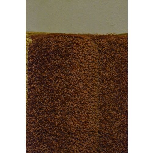 Karpet hoogpolig type Bonaparte Chinchilla - roest bruin (7.)