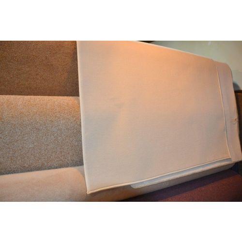 Louis de poortere karpet 100 scheerwol kleur zand gebandeerd 269 270 for Moquette louis depoortere