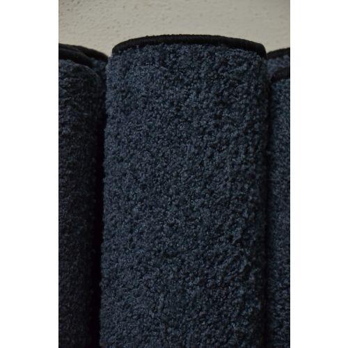 Karpet hoogpolig - blauw (33.)