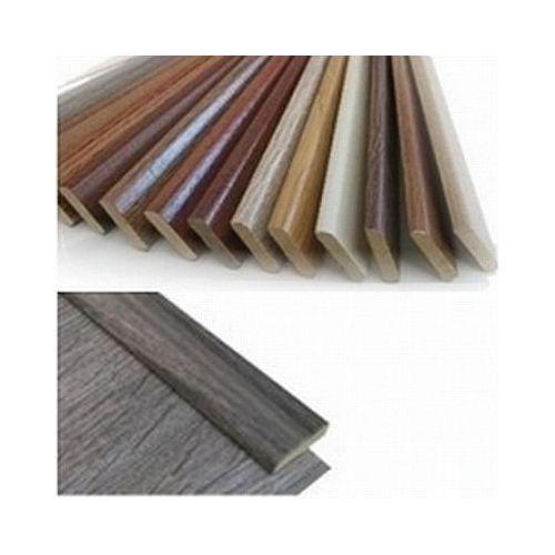 MEISTER Plakplint van Abachi hout met decorfolie passend bij diverse decors