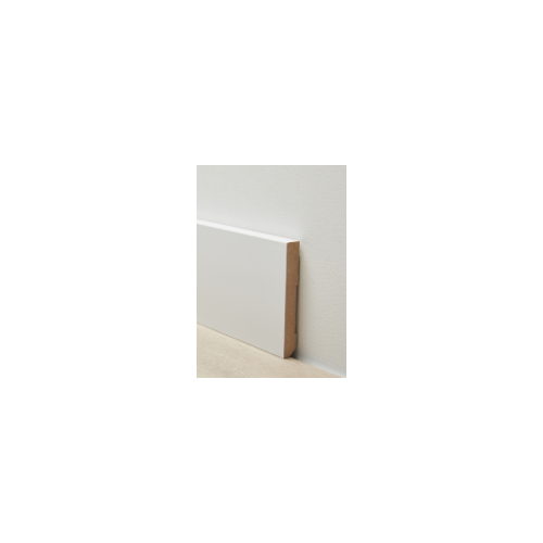 Berry Alloc - Moderne Plint 100 mm overschilderbaar - 9372-3045