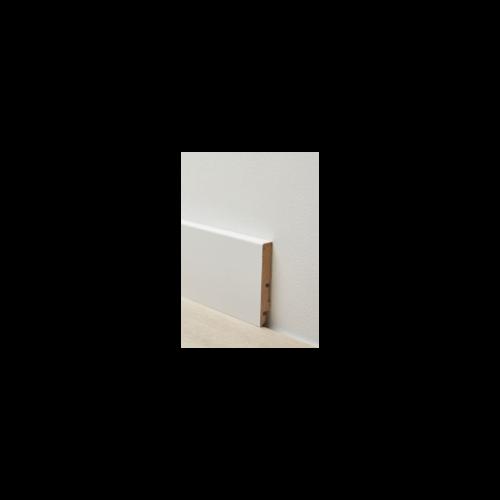 Berry Alloc  - Rechte Witte Plint 80 mm overschilderbaar - 63001776