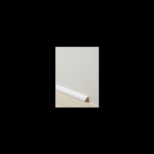 Berry Alloc - Witte Afgeronde Plint overschilderbaar 63001736
