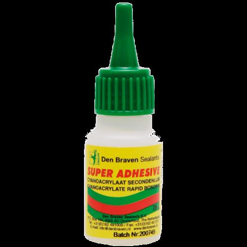 Zwaluw Super Adhesive lijm voor hoek/eindstukjes 20 gram (10stuks)